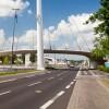 CHIO-Brücke - Fußgänger- und Radwegbrücke in Aachen