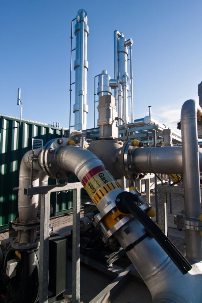 Biogasaufberietungsanlage in Euskirchen-Palmersheim